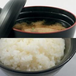 Soupe MISO + BOL DE RIZ - MIDI