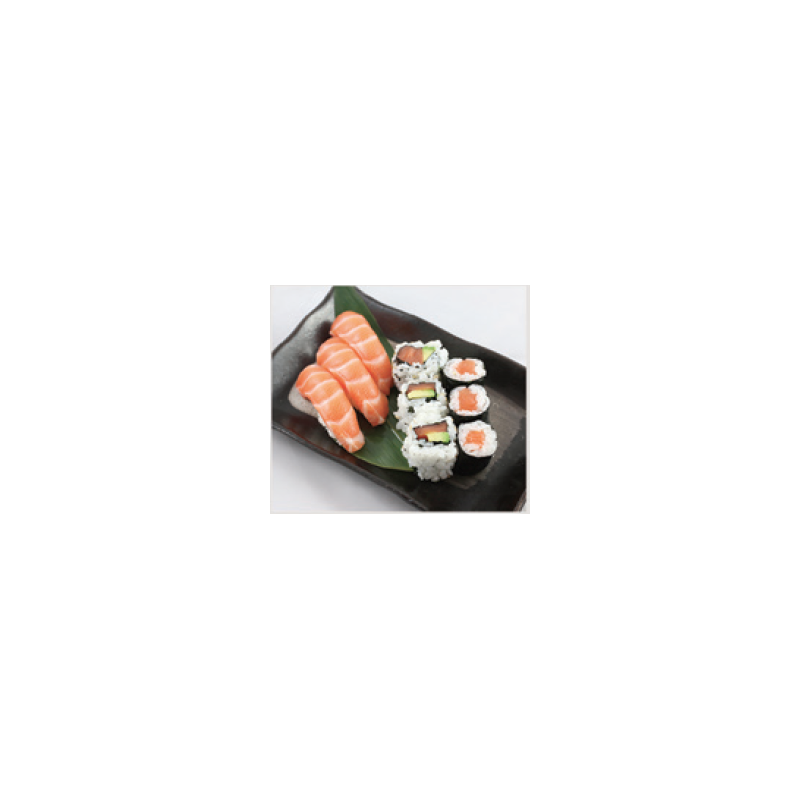 Trio 3 Sushi, 3 Maki, 3 California Tout Saumon