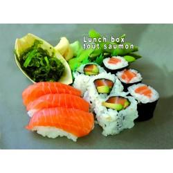LUNCH BOX TOUT SAUMON (sushi)