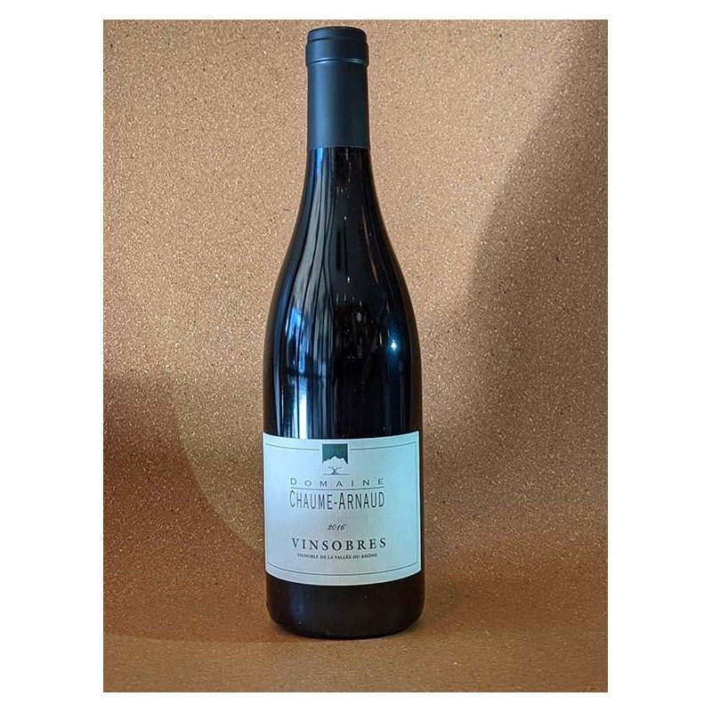 Rouge Domaine Chaume-Arnaud - AOC Vinsobres  75 cl